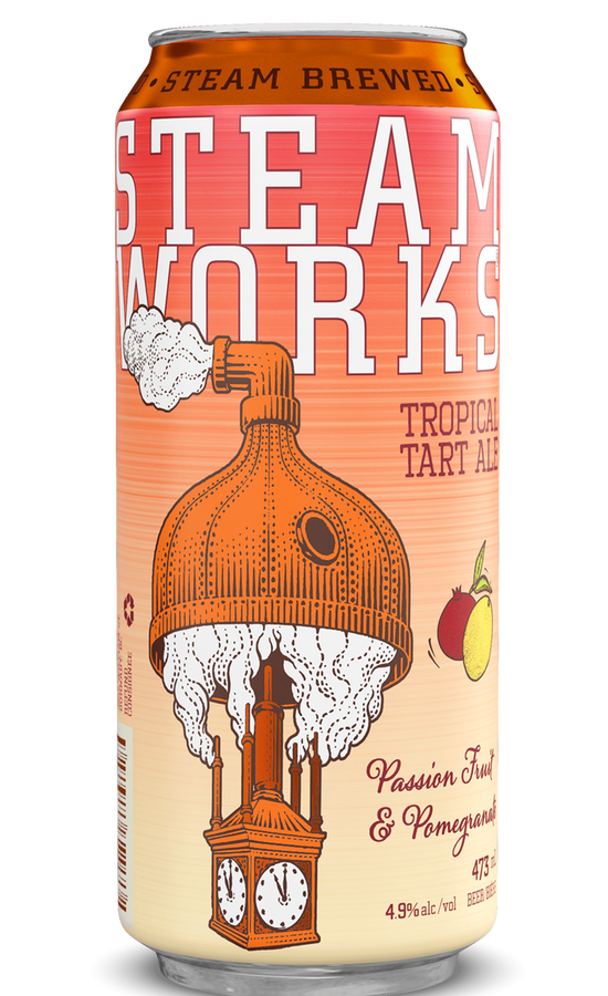 Outshinery Steamworks Can 473ml Tropicaltartale Min